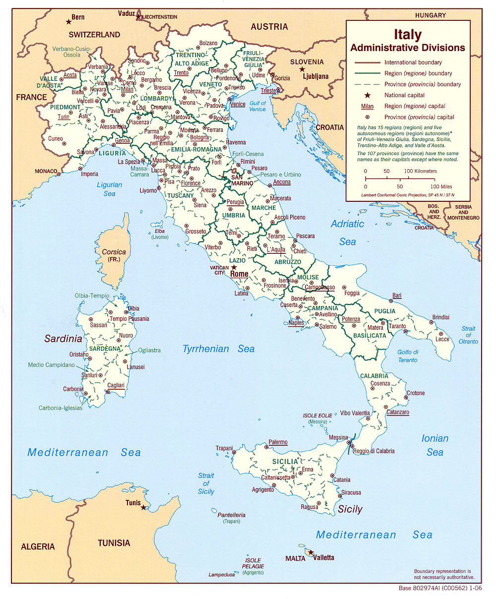 Carte Italie France.Cartograf Fr Les Cartes De L Italie