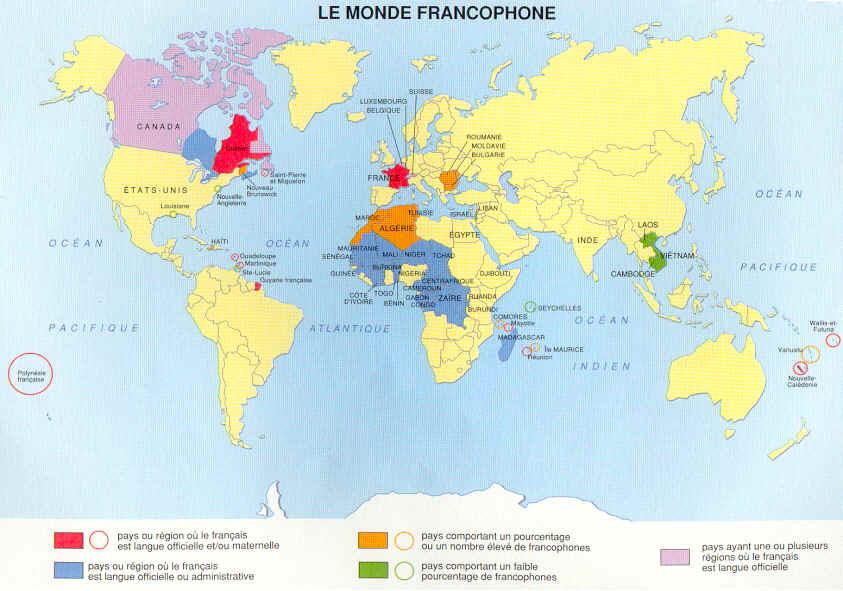 La Francophonie   Lessons   Tes Teach