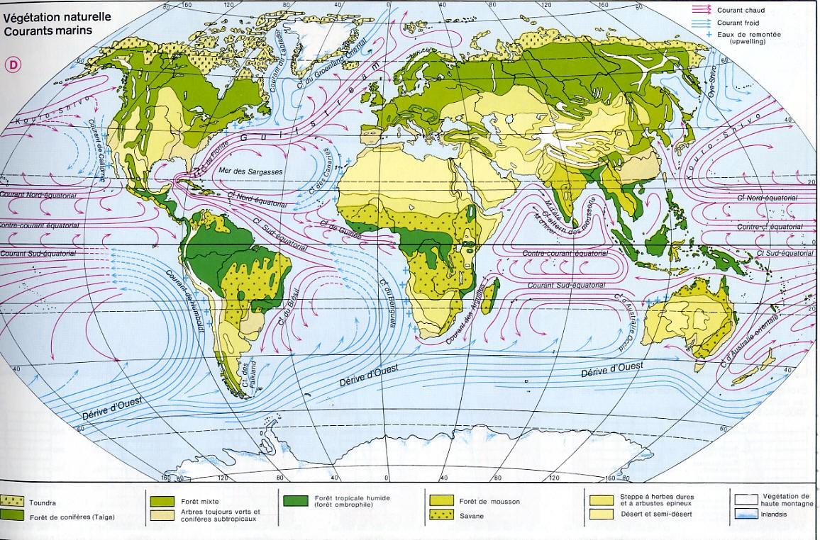 Carte Vegetation Chine.Cartograf Fr Carte Monde Toutes Les Cartes Des Climats