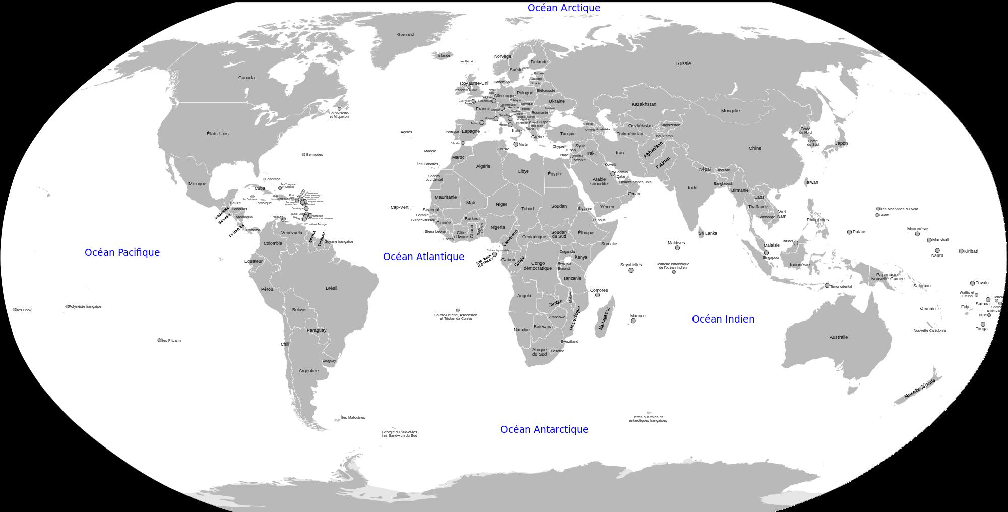 Cartograf.fr : Cartes des pays du monde : page 5