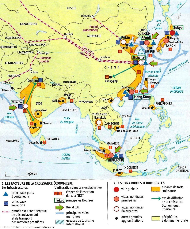 carte eurasie économique