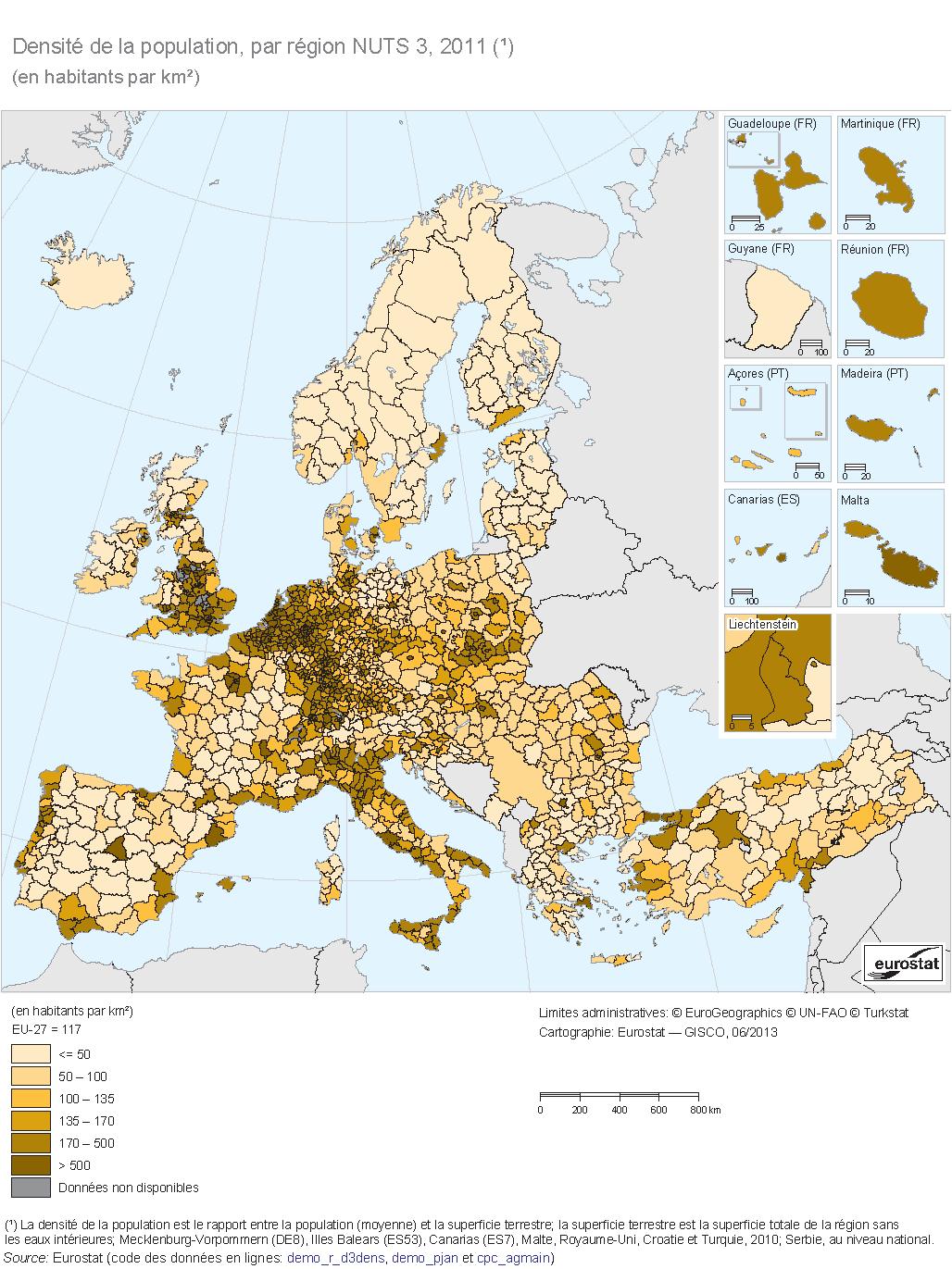 Carte Europe Km.Cartograf Fr Les Cartes Des Continents L Europe Page 2