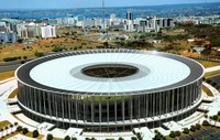 Photo du stade de Mané Garrincha de Brasilia