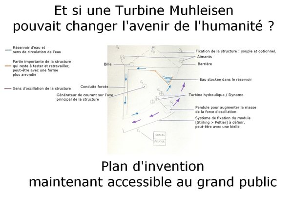 Découvrez la Turbine Muhleisen : nouvelle invention