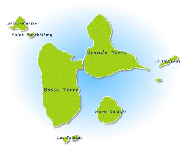 Cartograf.fr : France : Dom Tom : Guadeloupe : page 2