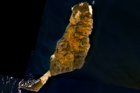Carte satellite de Fuerteventura