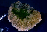 Carte de La Gomera satellite