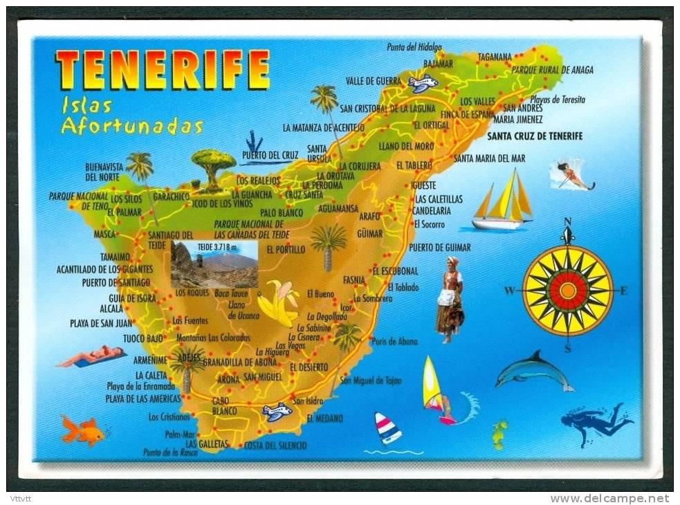 Cartograf.fr : L'Espagne : Les iles Canaries : Tenerife : page 2