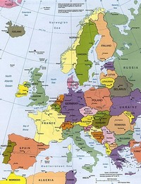 Carte Deurope Avec Zoom.Cartograf Fr Les Cartes Des Continents L Europe