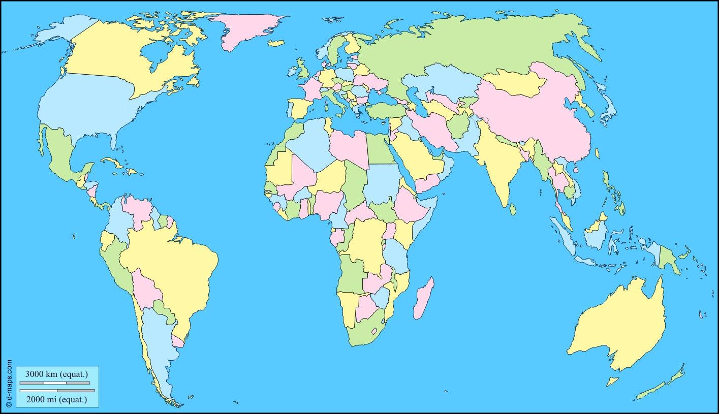 Cartograffr Diverses Cartes Du Monde Géographiques