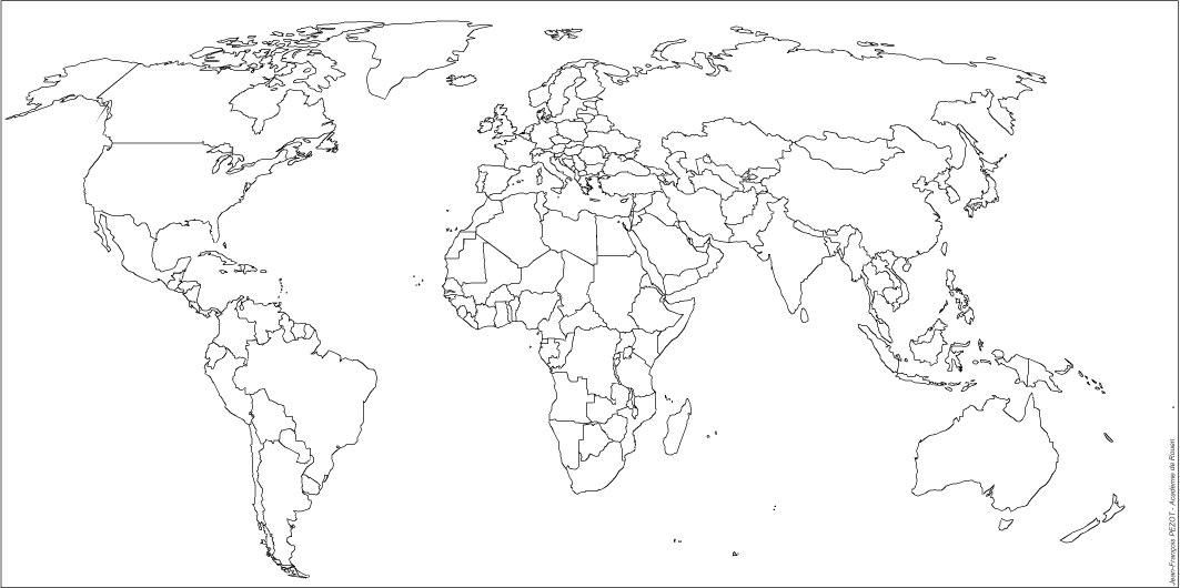 Carte Du Monde Vierge.Cartograf Fr Diverses Cartes Du Monde Geographiques
