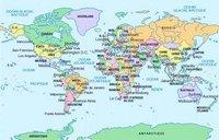 Carte des Etats du monde
