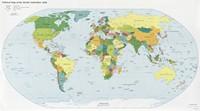 Carte du monde politique situation septembre 2008