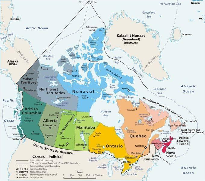 carte-du-canada-avec-les-villes
