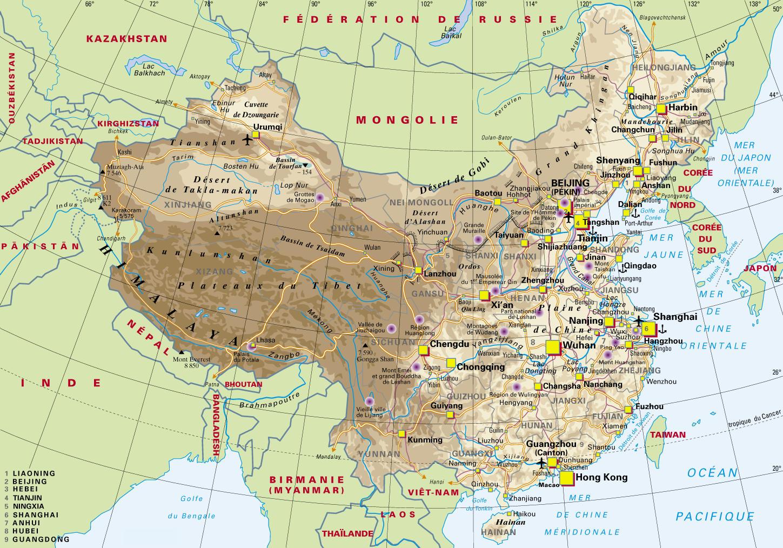 Carte Australie Chine.Cartograf Fr La Chine