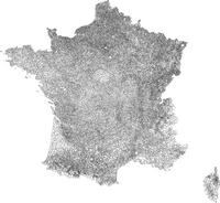 Carte des communes Françaises