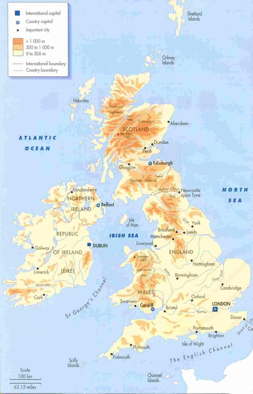 Carte Angleterre Grandes Villes.Cartograf Fr Le Royaume Uni Page 2