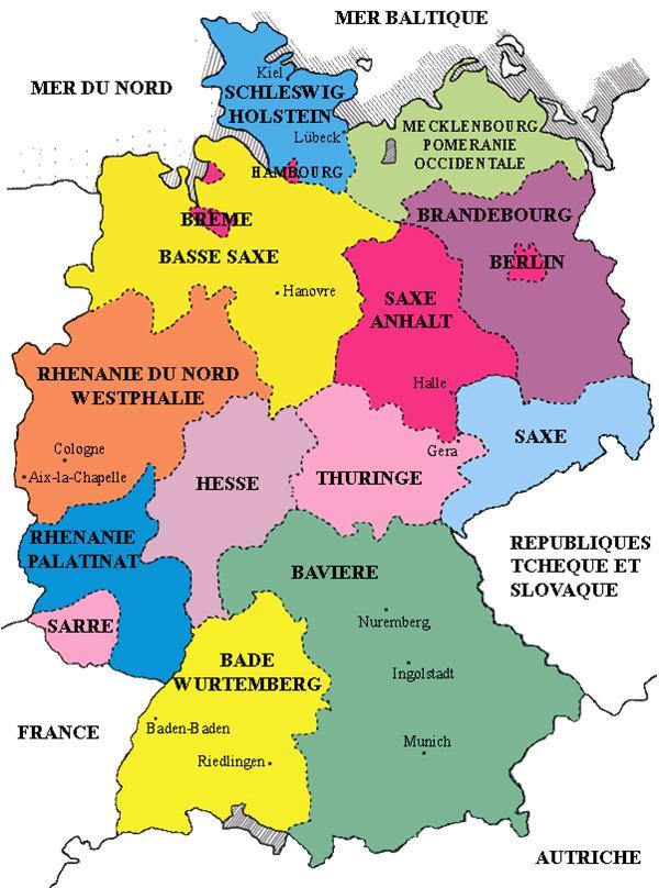 Carte Allemagne Lander.Cartograf Fr L Allemagne Page 2