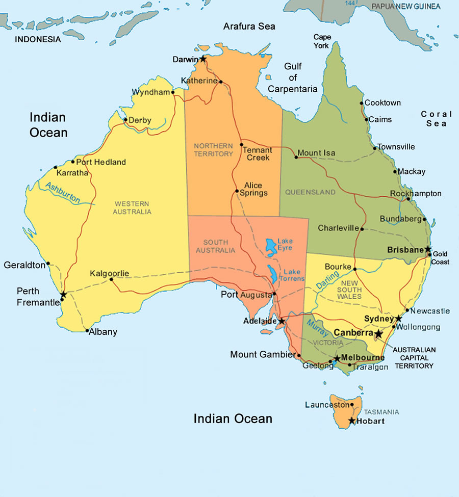 Carte Geologique Australie.Cartograf Fr L Australie Page 2