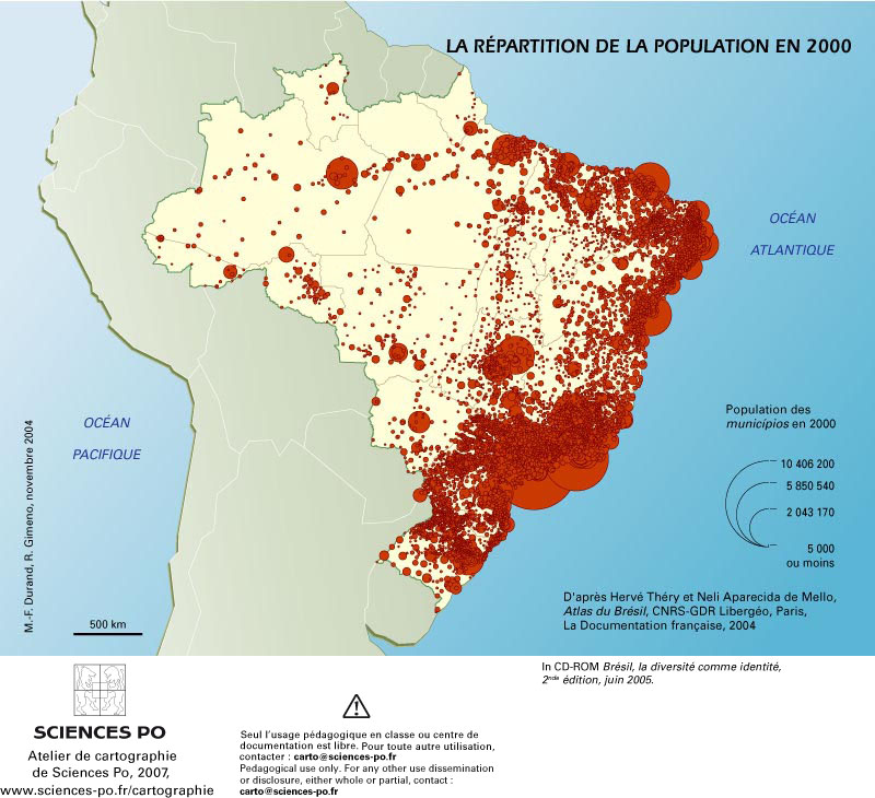 Favelas Bresil Carte.Cartograf Fr Le Bresil Page 2