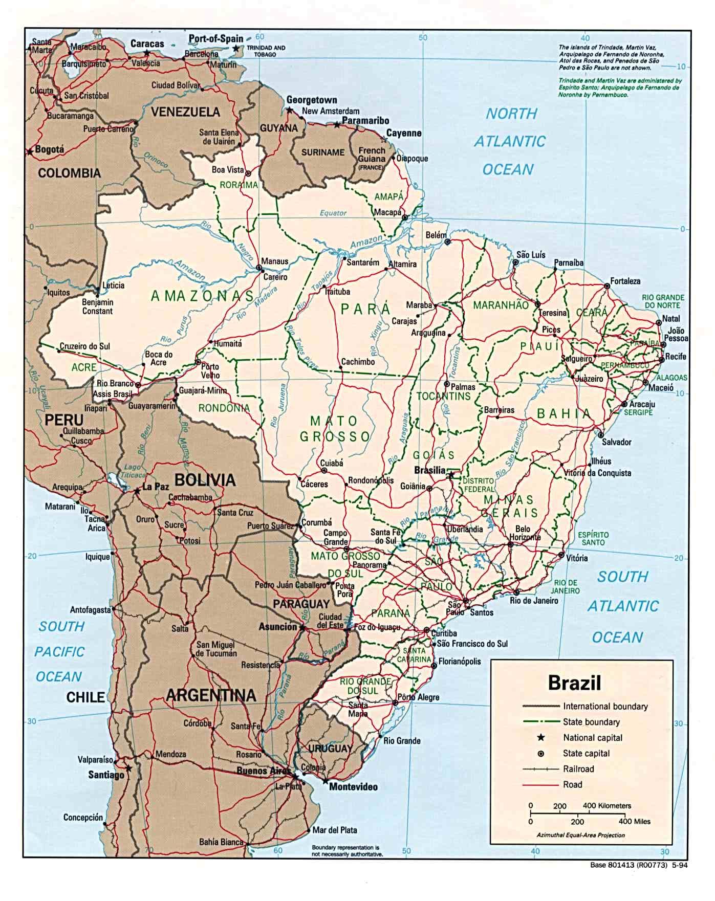 Carte Aeroport Bresil.Cartograf Fr Cartes Des Pays Le Bresil