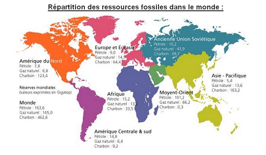 Dossier sp cial nergie dans le monde for Gaz naturel dans le monde
