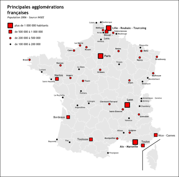 carte-de-france-villes-images-et-photos