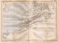 Ancienne carte des villes du Maroc et de leur population