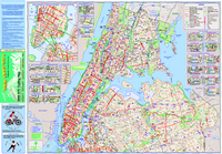 Carte des pistes cyclables de New York City