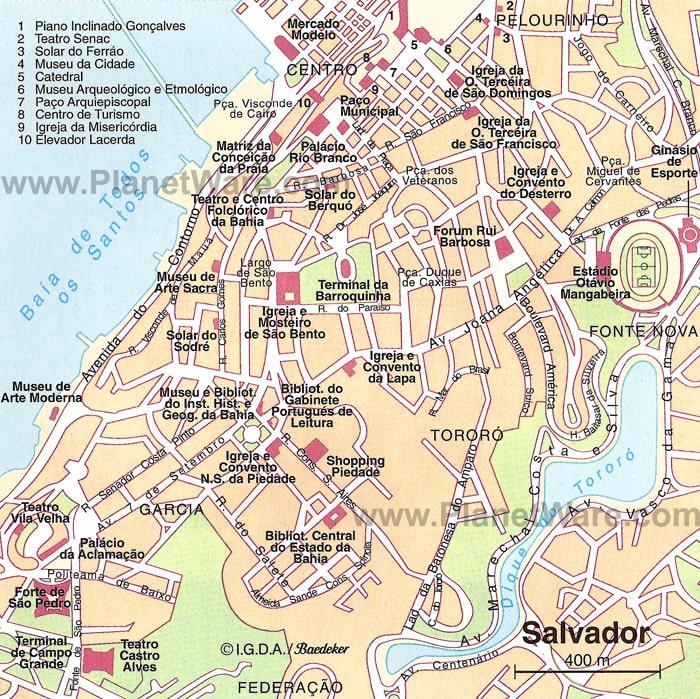 Cartograf Fr Salvador De Bahia
