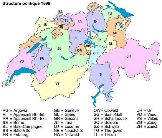 Cartograf.fr : Toutes les cartes de la Suisse : page 2