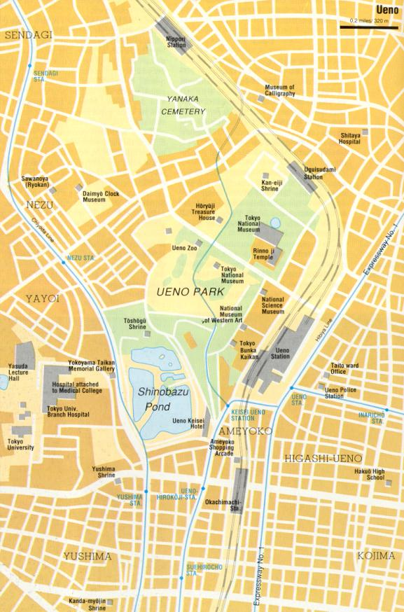 Cartograf.fr : Tokyo