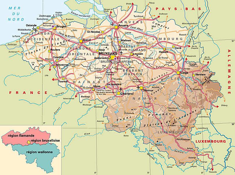 carte-de-belgique-detaille