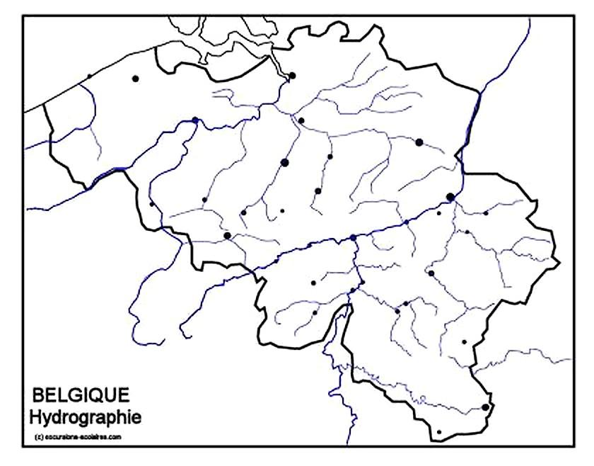 Carte Belgique Hydrographie.Cartograf Fr Les Pays La Belgique Page 2