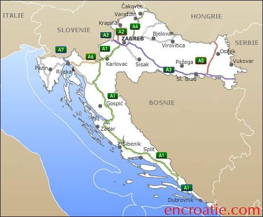 Carte Altitude Croatie.Cartograf Fr La Croatie