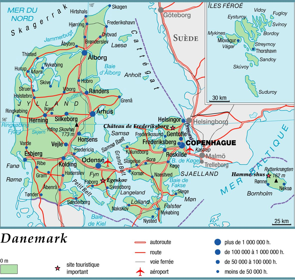Cartograf.fr : Le Danemark : page 2