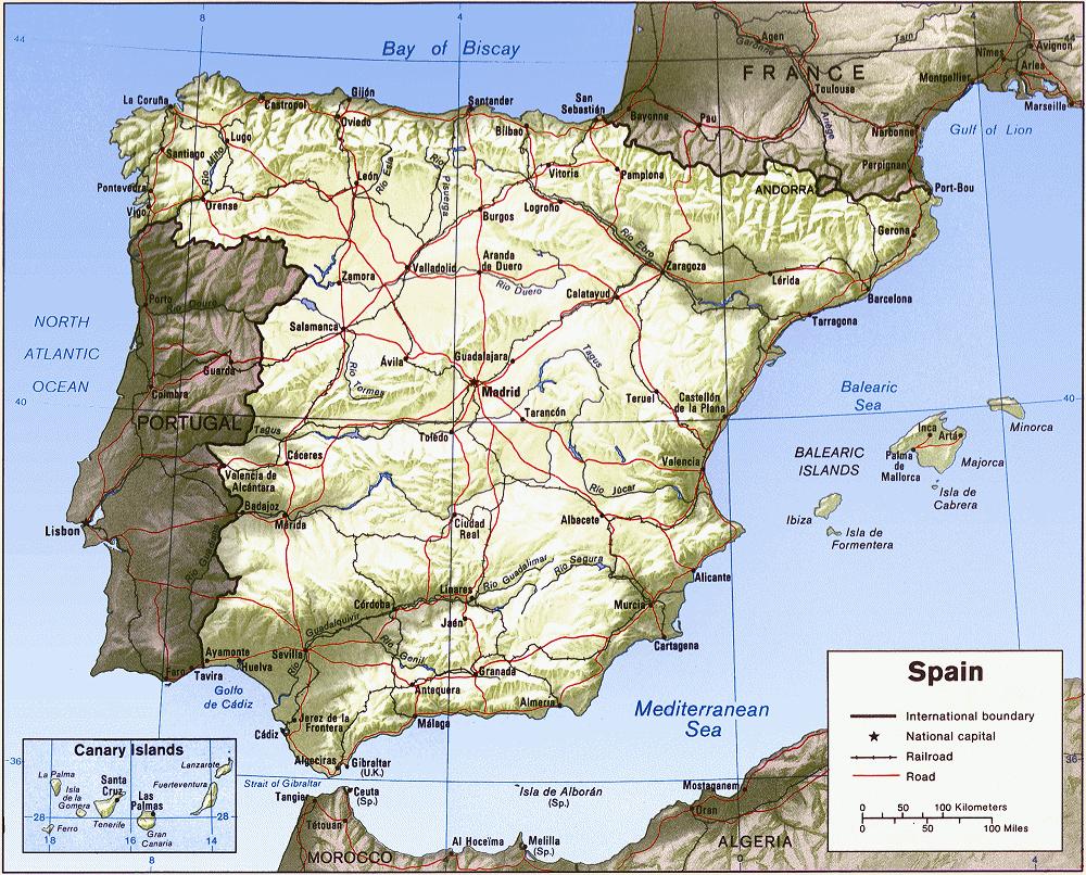 Carte Espagne Hd.Cartograf Fr Carte Espagne Page 5