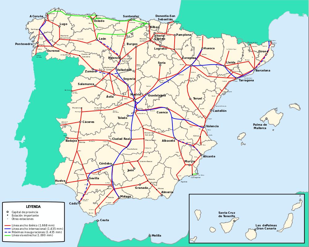 carte-routes-et-autoroutes-despagne