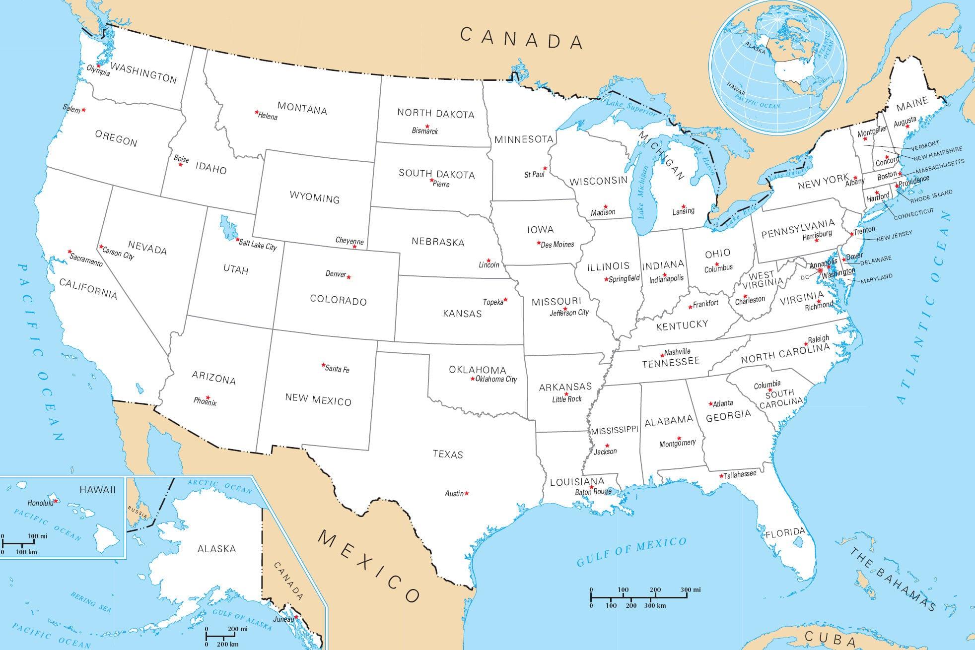 carte-des-etats-des-etats-unis-avec-villes