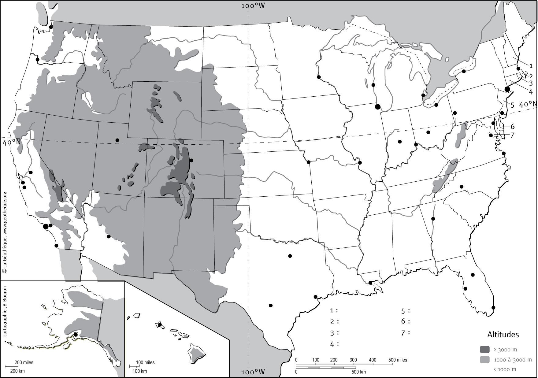 Cartograf.fr : Les Etats-Unis : page 2
