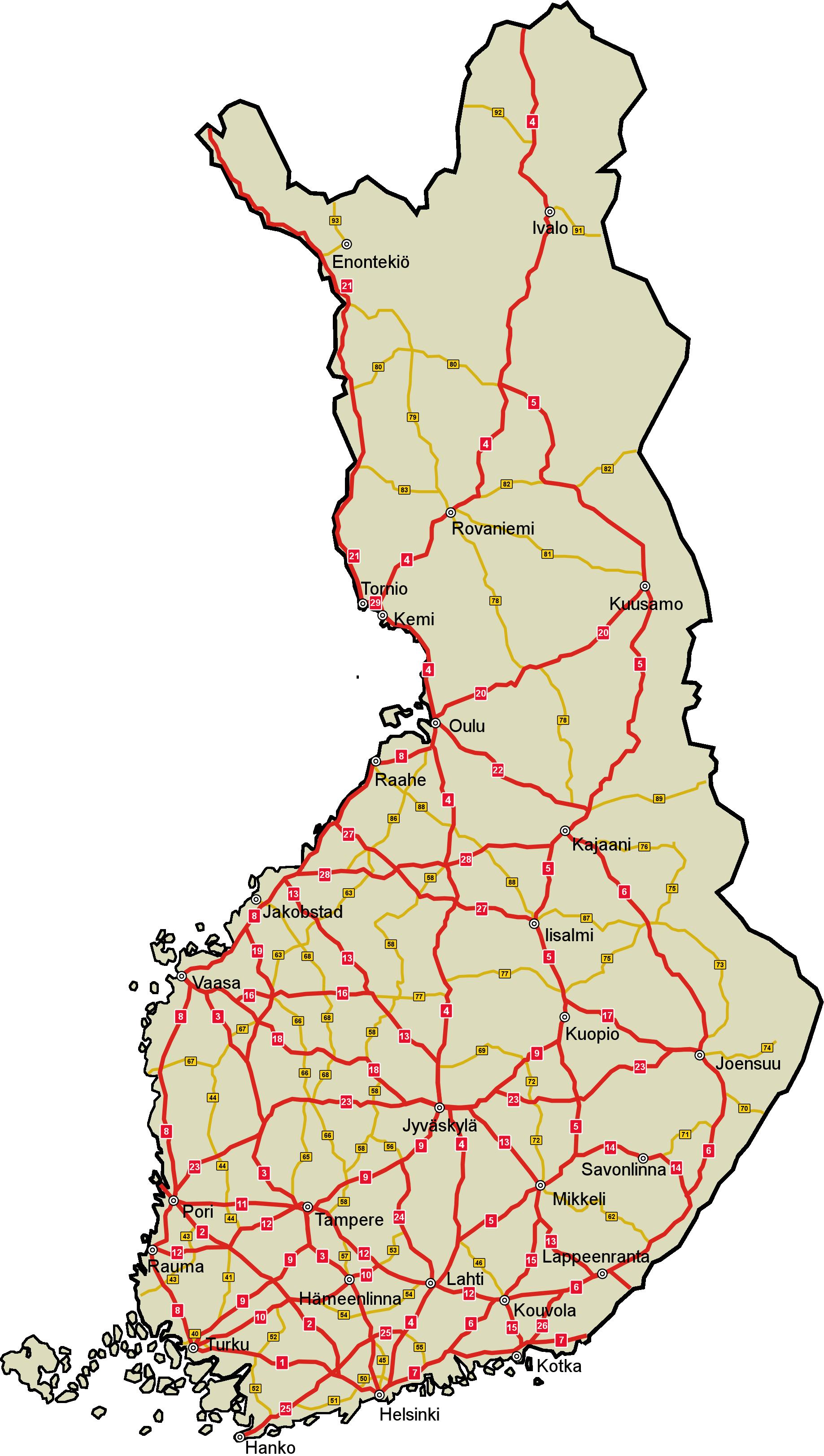 Cartograf.fr : La Finlande