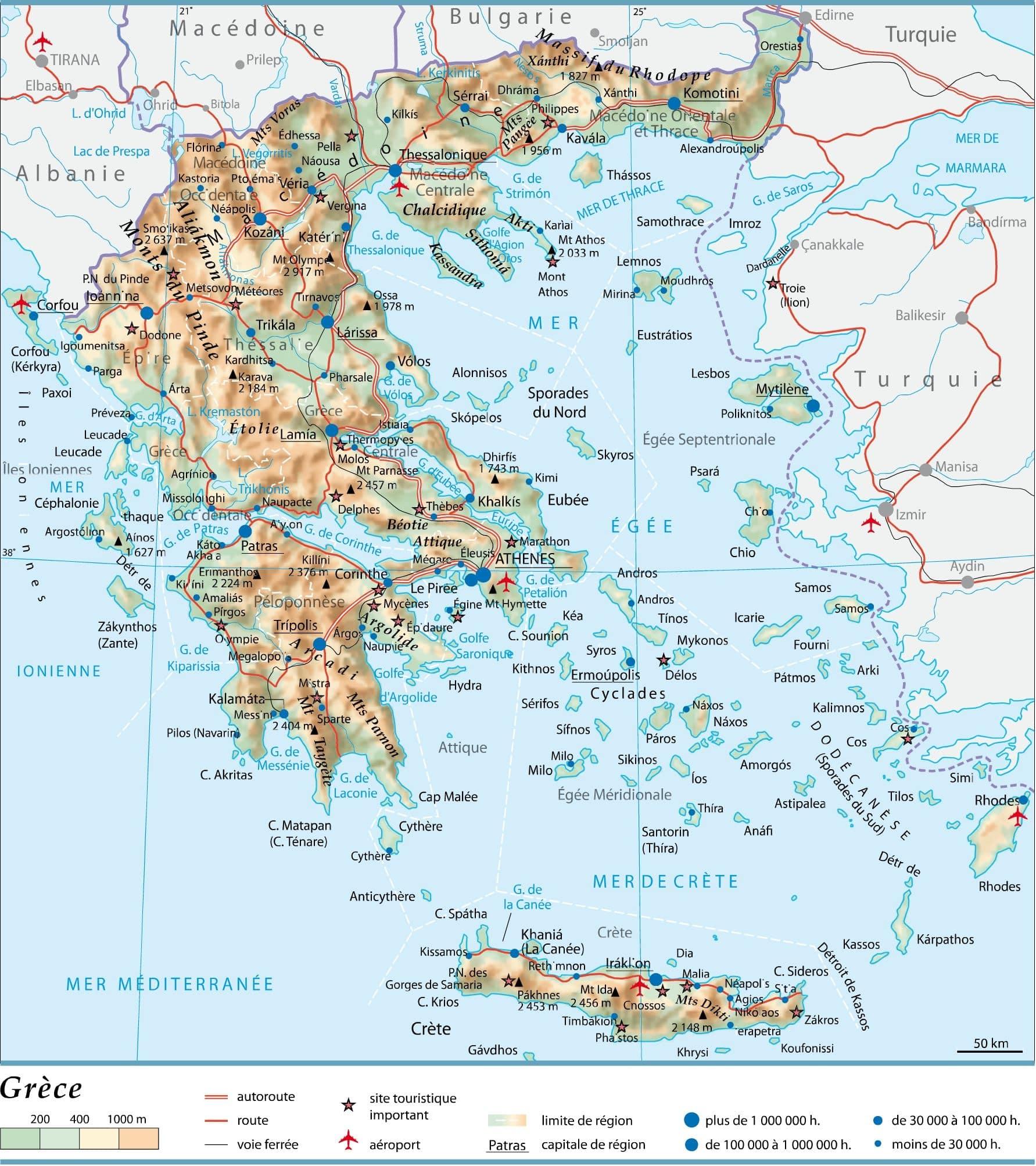 Cartograf.fr : La Grèce : page 3