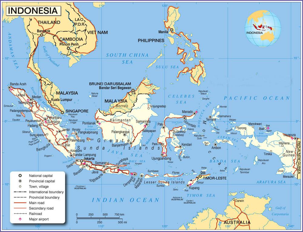 Carte Bali Indonesie Geographie.Cartograf Fr Carte Indonesie
