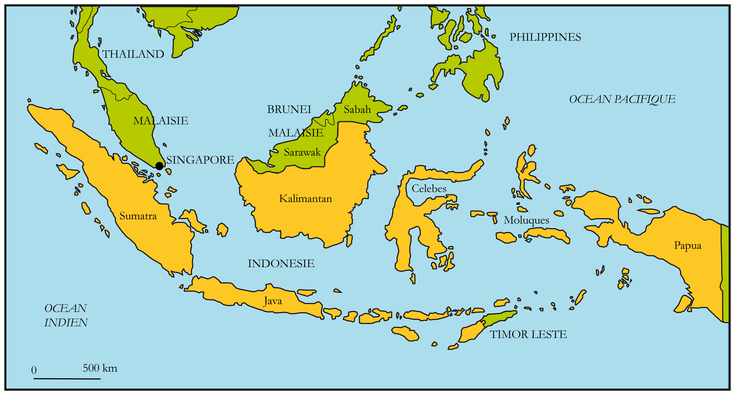 carte-indonesie - Photos