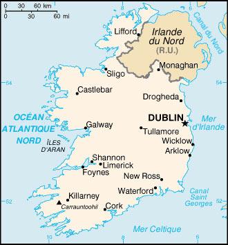 Carte Irlande Simple.Cartograf Fr L Irlande Page 3