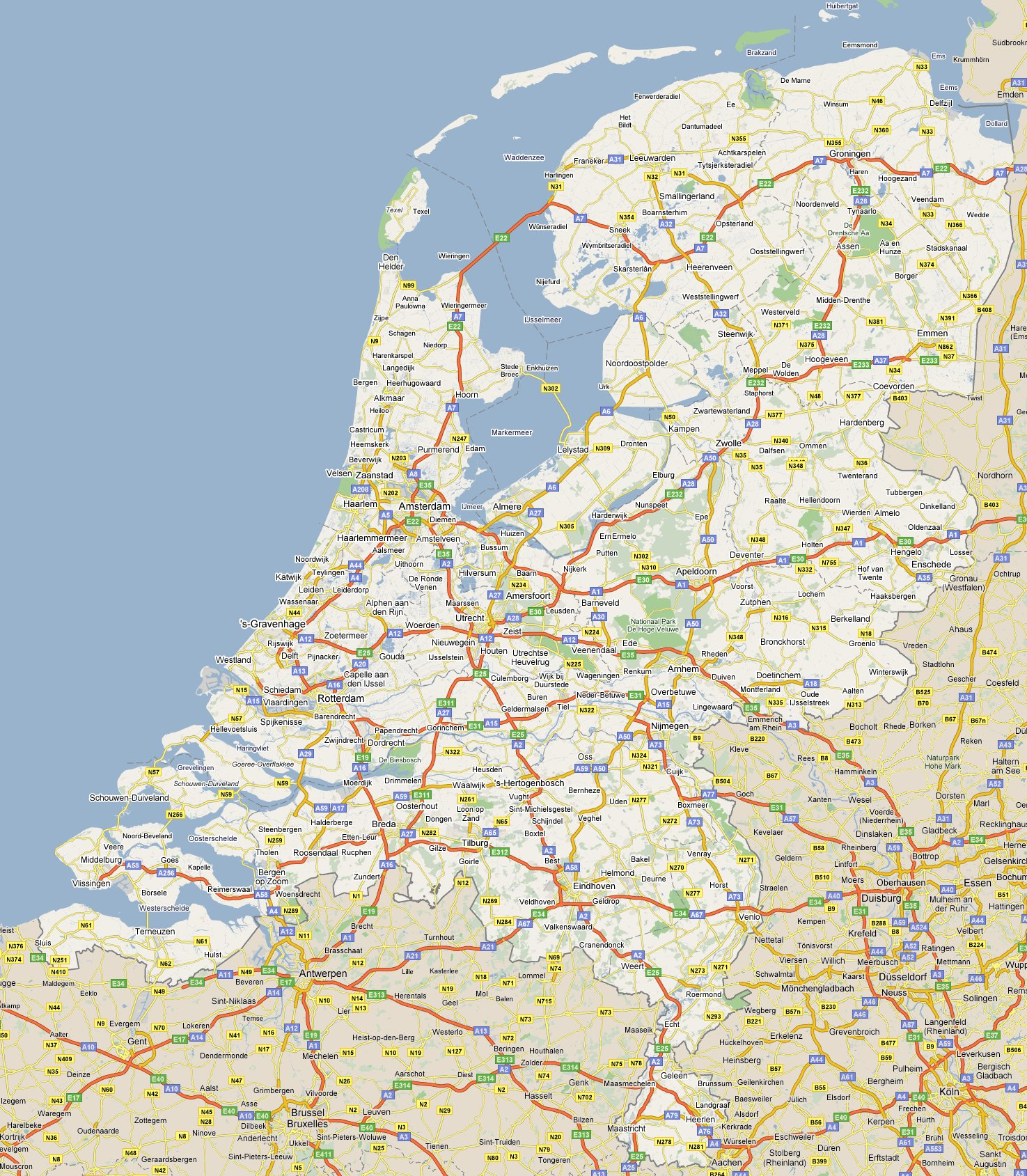 Carte Hollande Touristique.Cartograf Fr Les Pays Bas Page 2