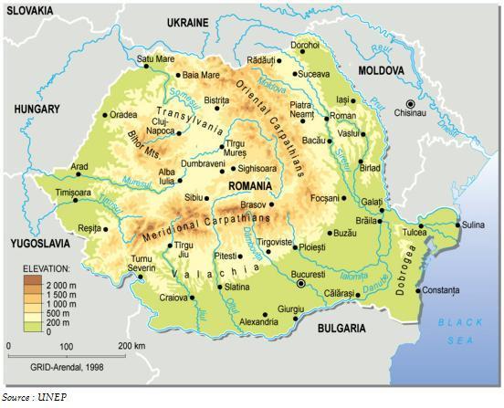 Carte Roumanie Villes.Cartograf Fr Carte De La Roumanie