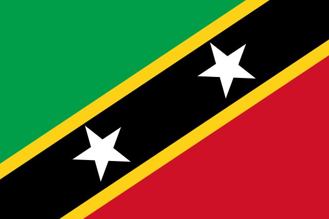 drapeau de saint christophe et nieves