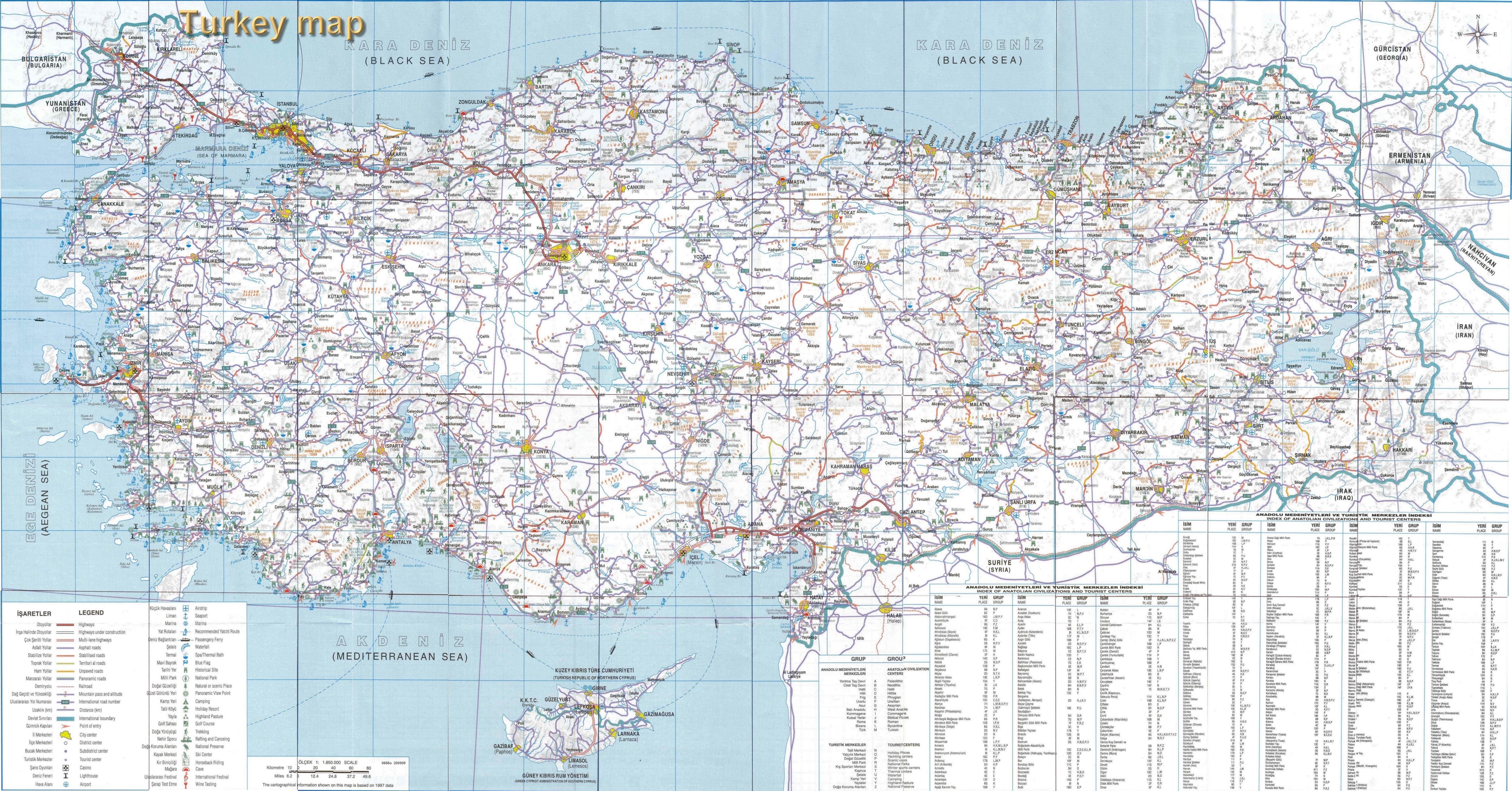 turquie-carte-detaillee