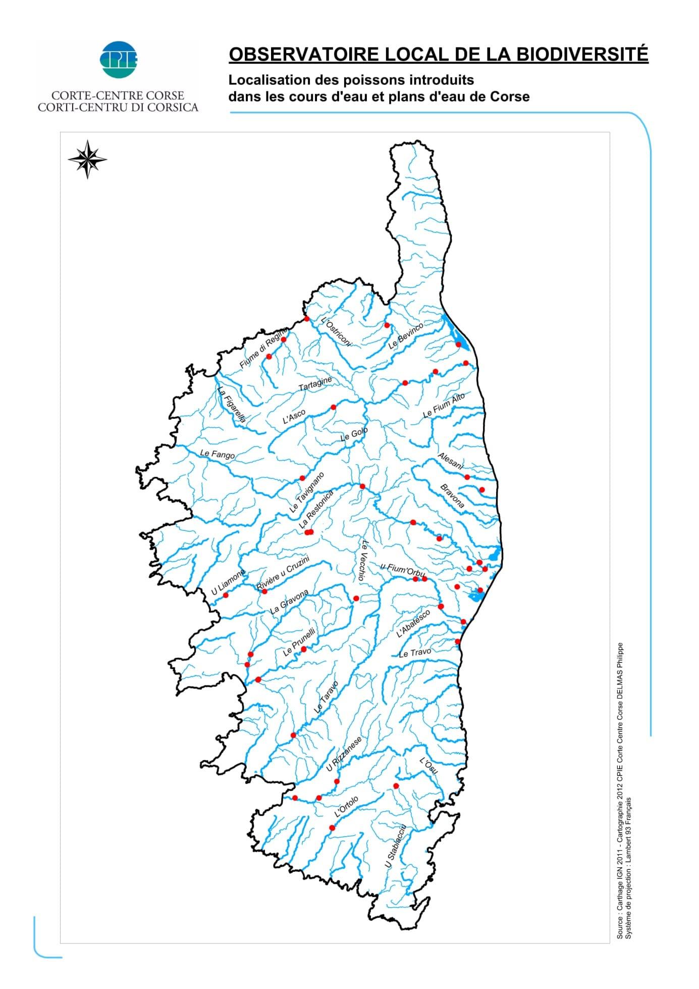 Relativ Cartograf.fr : Les régions de France : La Corse : page 2 RY43